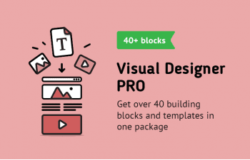 Visual Designer PRO (The First Page Builder for Opencart)
